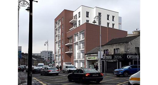 New apartment development commences in Stoneybatter, Dublin