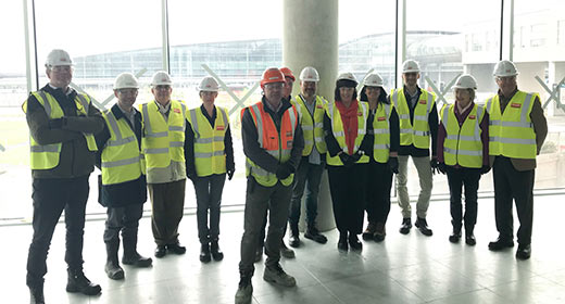 Perspective Architectural Group visit Dublin Airport Central