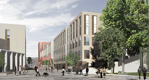 Planning has been lodged for 1250.en-suite bedrooms Student Accommodation in DCU Campus