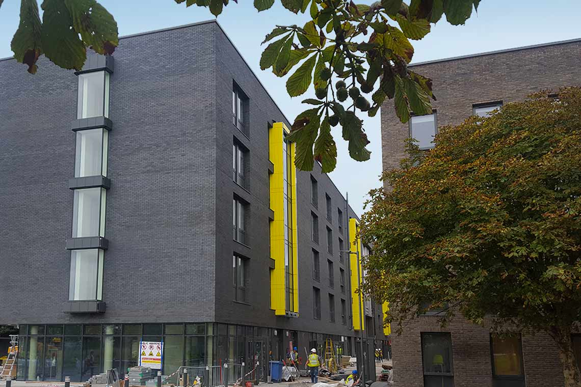 New 429 bed student accommodation scheme for NUI Galway completed on programme