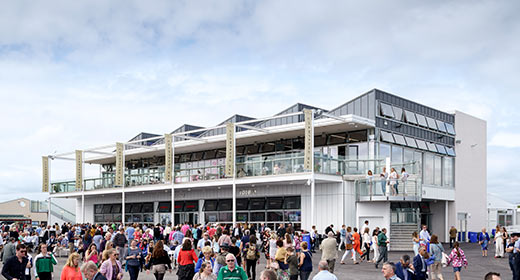 New Tote Building & Champagne Bar completed in time for the Galway Races Summer Festival