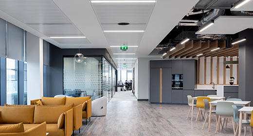 The Sharp Building Fit-Out Completed