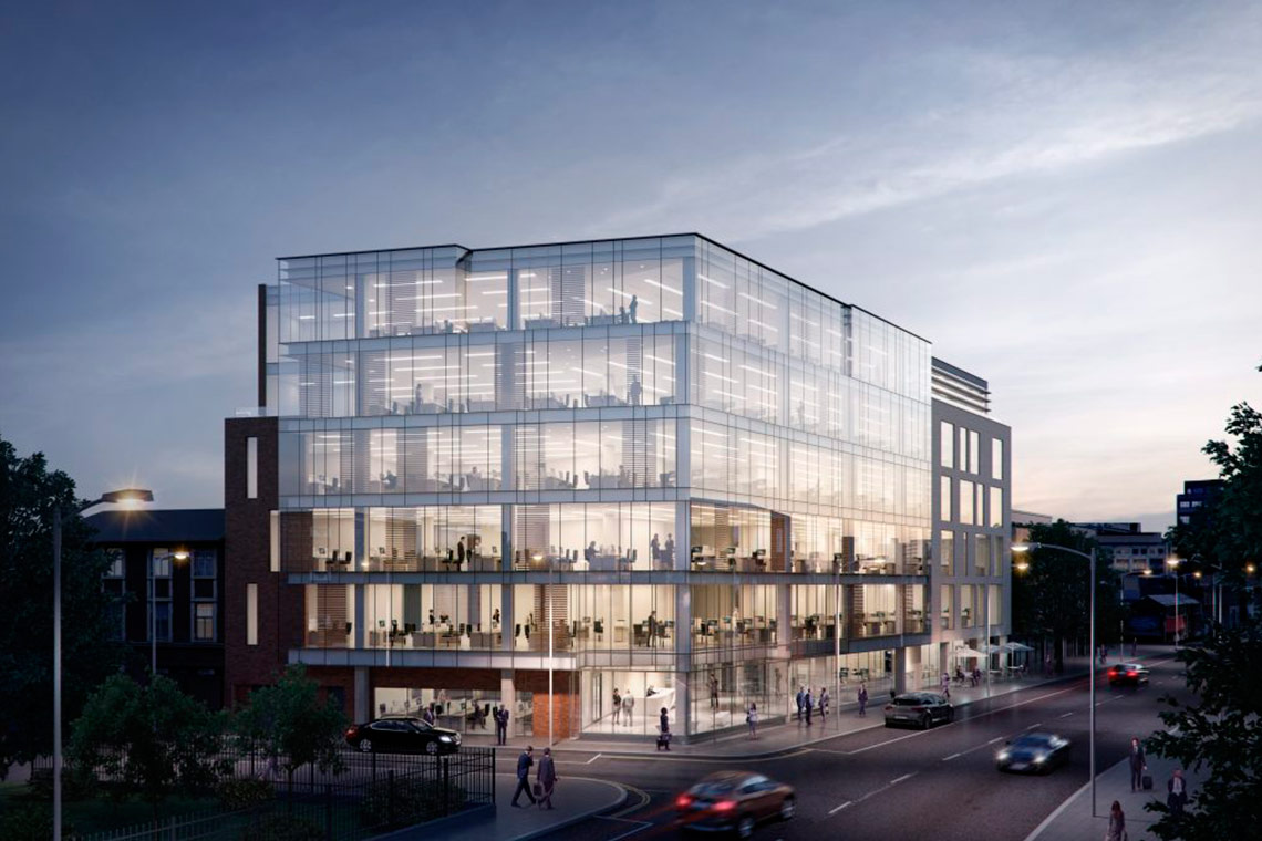 COADY Architects together with CBRE and Structure Tone are thrilled to have started construction at the Sharp Building, a 4,000m2 office building located on Hogan Place, Dublin 2