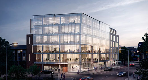 The Sharp Building Fit-Out Starts on Site