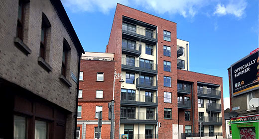 New residential development in Stoneybatter completed