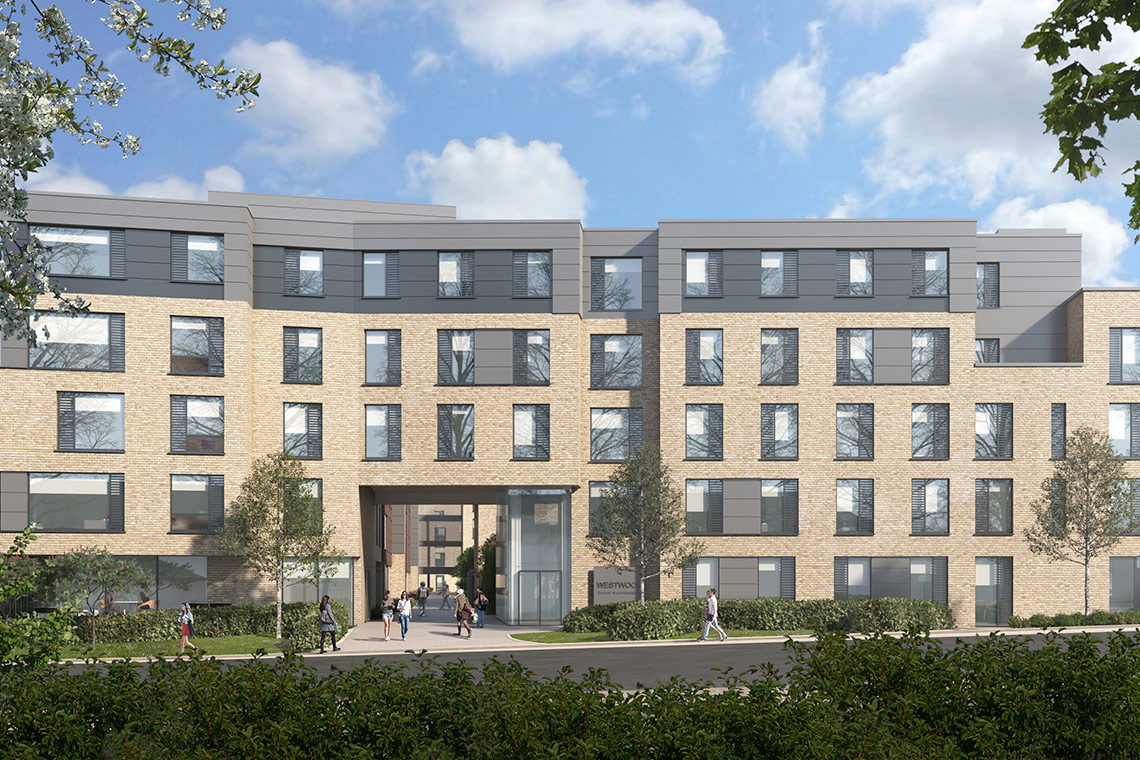 Planning granted for new 394-bedroom Student Accommodation at the existing Westwood Hotel Site in Galway.