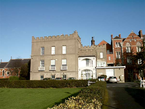 Drumcondra Castle and WH Byrne Building, Dublin