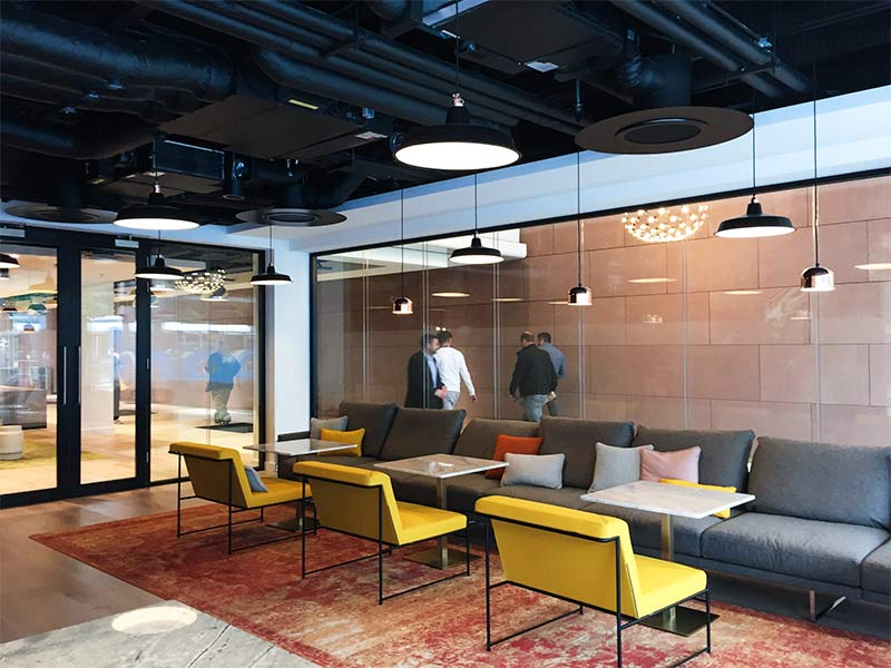 Office fit-out St. Stephen's Green